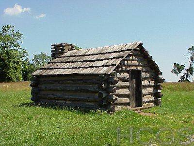 Hcgs The Old Log Cabin